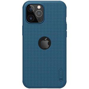iPhone 12 / 12 Pro Nillkin Frosted Shield Bagside Cover - MagSafe Kompatibel - Blå