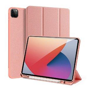 "iPad Pro 12.9"" (2021) DUX DUCIS DOMO Series Flip Cover - Rose Gold"