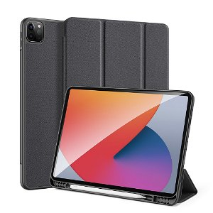 "iPad Pro 12.9"" (2021) DUX DUCIS DOMO Series Flip Cover - Sort"