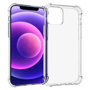iPhone 13 Mini Shock-Proof Fleksibel Plastik Bagside Cover - Gennemsigtig