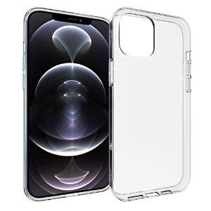 iPhone 13 Pro Max Fleksibel Plastik Bagside Cover - Gennemsigtig