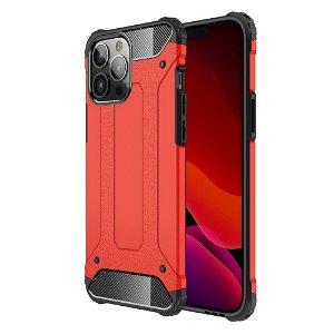 iPhone 13 Pro Max Armor Guard Håndværker Bagside Cover - Rød