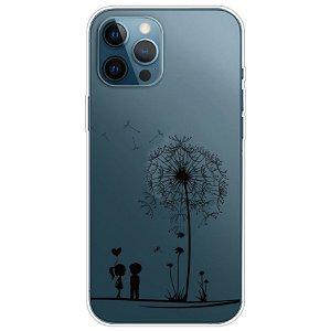 iPhone 13 Pro Fleksibel Gennemsigtig Plastik Bagside Cover - Børn og Træ