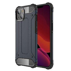 iPhone 13 Mini Armor Guard Håndværker Bagside Cover - Mørkeblå