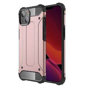 iPhone 13 Mini Armor Guard Håndværker Bagside Cover - Rose Gold