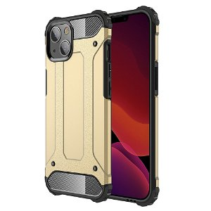 iPhone 13 Mini Armor Guard Håndværker Bagside Cover - Guld