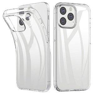 iPhone 13 Mini Fleksibel Plastik Bagside Cover - Gennemsigtig