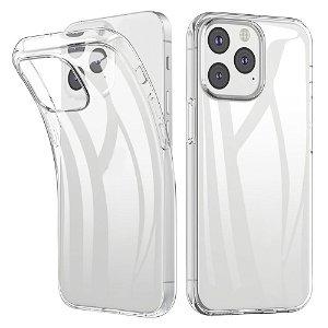 iPhone 13 Fleksibel Plastik Bagside Cover - Gennemsigtig