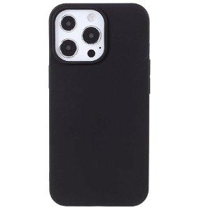 iPhone 13 Pro Max Fleksibel TPU Plast Cover - Sort