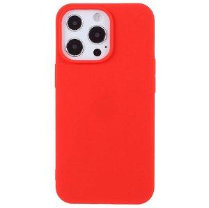 iPhone 13 Pro Max Blød TPU Cover - Rød