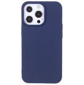 iPhone 13 Pro Max Blød TPU Cover - Mørke Blå
