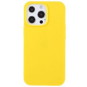 iPhone 13 Pro Max Blød TPU Cover - Gul