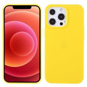 iPhone 13 Pro Fleksibelt TPU Cover - Gul