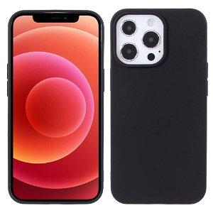 iPhone 13 Pro Fleksibelt TPU Cover - Sort