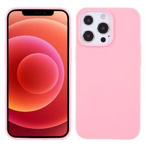 iPhone 13 Pro Fleksibelt TPU Cover - Lyserød