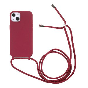 iPhone 13 Fleksibelt Cover m. Snor - Rød