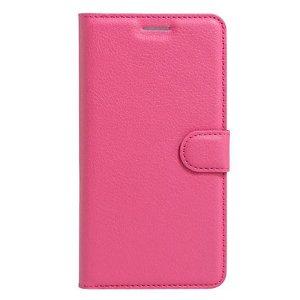 Apple iPhone SE (2020)/8/7 Litchi FlipCover m. Kortholder - Rosa