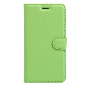 Apple iPhone SE (2020)/8/7 Litchi FlipCover m. Kortholder - Grøn