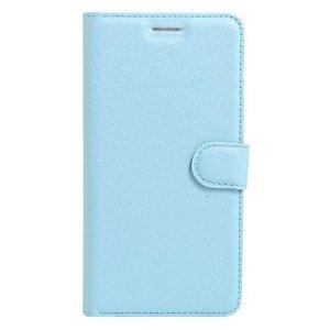 Apple iPhone SE (2020)/8/7 Litchi FlipCover m. Kortholder - Blå