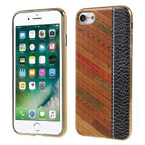 Apple iPhone SE (2020)/8/7 TPU Cover - Multi Trætekstur
