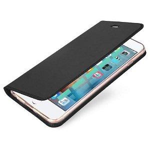 DUX DUCIS Skin Pro Series for iPhone SE / 5 / 5s Thin Wallet Mørkegrå
