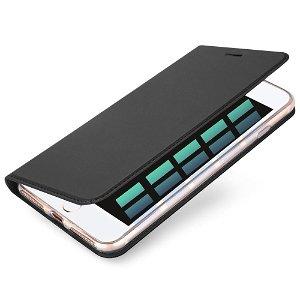 DUX DUCIS Skin Pro Series for iPhone 8 / 7 Plus Thin Wallet Sort