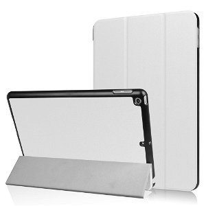 Apple iPad 9.7 2017/2018 Læder Cover m. Stand - Hvid