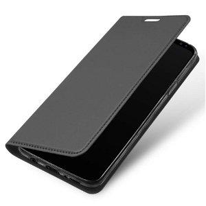 DUX DUCIS Skin Pro Series for Samsung Galaxy S9 Thin Wallet Grå