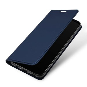 DUX DUCIS Skin Pro Series for Samsung Galaxy S9 Thin Wallet Mørkeblå