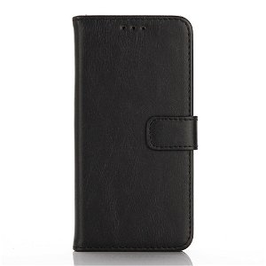 Samsung Galaxy A3 (2016) Wallet Læder Etui m. Pung Sort