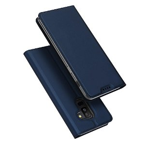 Samsung Galaxy A6+ (2018) DUX DUCIS Skin Pro Series Thin Wallet Mørkeblå