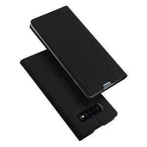Samsung Galaxy S10+ Plus Dux Ducis Flip Cover - Sort