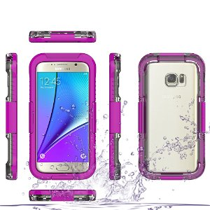 Samsung Galaxy S7 Vandtæt Cover - Lilla