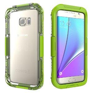 Samsung Galaxy S7 Edge Vandtæt Cover - Grøn