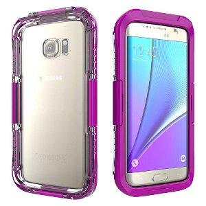 Samsung Galaxy S7 Edge Vandtæt Cover - Lilla