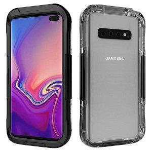 Samsung Galaxy S10 Waterproof Protection Case - Vandtæt Cover Sort