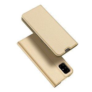 Samsung Galaxy A71 Dux Ducis Flip Cover - Guld
