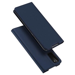 Samsung Galaxy S20 Dux Ducis Flip Cover - Blå