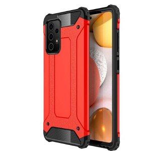 Samsung Galaxy A52s (5G) / A52 (4G / 5G) Håndværker Cover Armor Guard - Rød