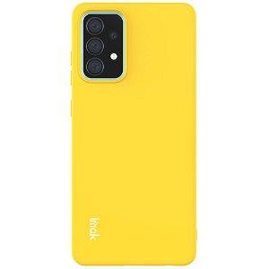 Samsung Galaxy A52s (5G) / A52 (4G / 5G) Fleksibel Plastik Cover IMAK UC-2 Series - Gul