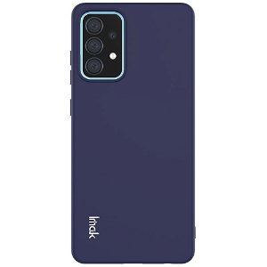 Samsung Galaxy A52s (5G) / A52 (4G / 5G) Fleksibel Plastik Cover IMAK UC-2 Series - Mørkeblå