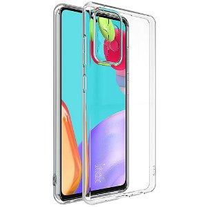 Samsung Galaxy A52s (5G) / A52 (4G / 5G) Fleksibelt Plastik Cover IMAK UX-5 Series - Gennemsigtig