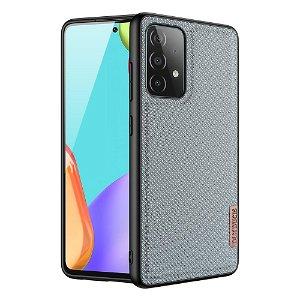 Samsung Galaxy A52s (5G) / A52 (4G / 5G) Dux Ducis FINO Nylon Bagside Cover - Lyseblå