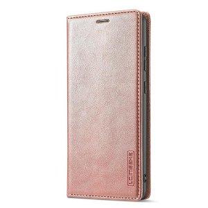 Samsung Galaxy A52s (5G) / A52 (4G / 5G) LC.IMEEKE Læder Flip Cover m. Pung - Rose Gold