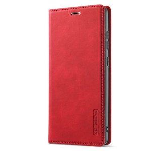Samsung Galaxy A52s (5G) / A52 (4G / 5G) LC.IMEEKE Læder Flip Cover m. Pung - Rød