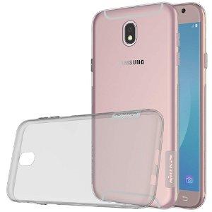 Samsung Galaxy J5 (2017) Nillkin 0.6 mm Nature TPU Cover Gennemsigtig / Grå