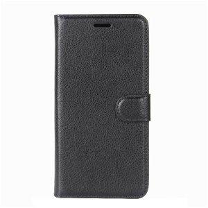 HTC 10 Smart Læder Flip Cover m. Kortholder & Stand - Sort