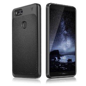 Huawei Honor 7X Cover TPU Litchi Grain Sort