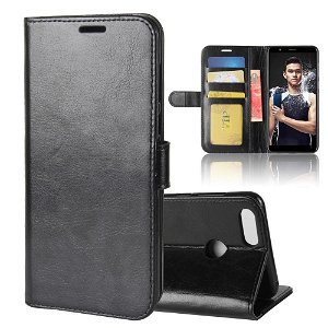 Huawei Honor 7X Leather Flip Stand Wallet Sort