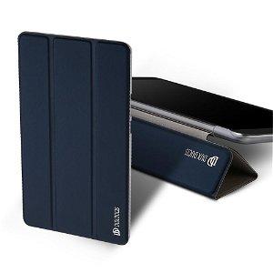 """Huawei MediaPad T3 7"""" Cover - DUX DUCIS Skin Pro Series Tri-fold Læder Cover Mørkeblå"""